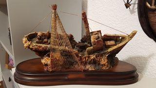 Barco de decoración
