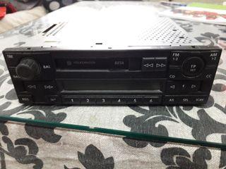 Radio cassette original de Volkswagen