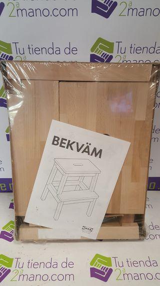TABURETE ESCALERA BEKVAM IKEA