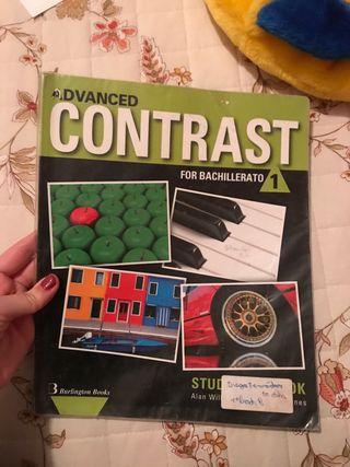 Libro CONTRAST inglés 1° Bachillerato