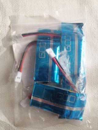 baterias recargables para dorne