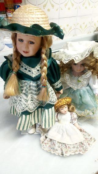 muñecas antiguas colección