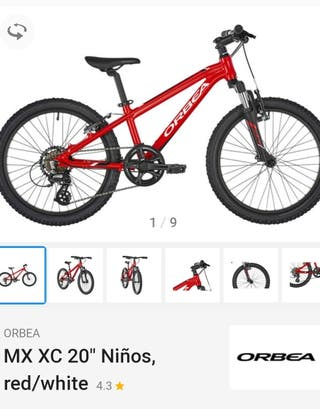 Bici Orbea MX XC 24' niño