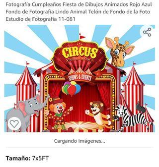 accesorios para fiesta circo para niños