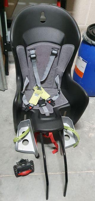 silla de bici para bebé