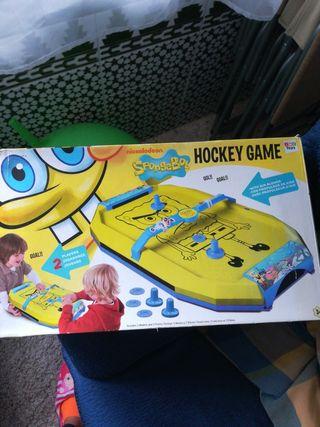 juego hockey bod esponja