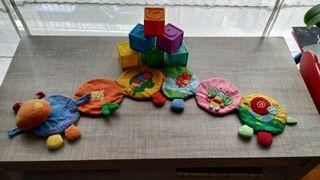 Lote de juguetes para bebé en perfecto estado