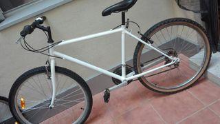 bicicleta adulto blanca 26''