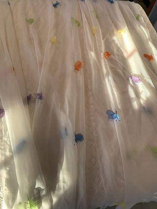 Cortinas de ikea mariposas