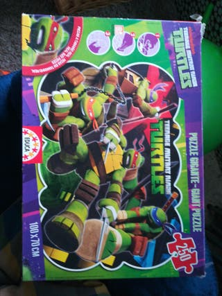 puzzle tortugas ninjas
