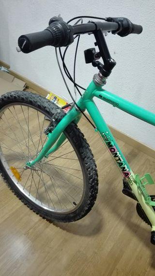 bicicleta 26''adulto verde