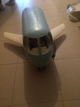 Avión barbi