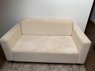 Sofa biplaza 145 x 79prof x 73alt