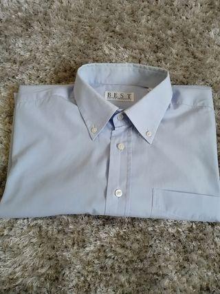 Camisa de hombre talla grande