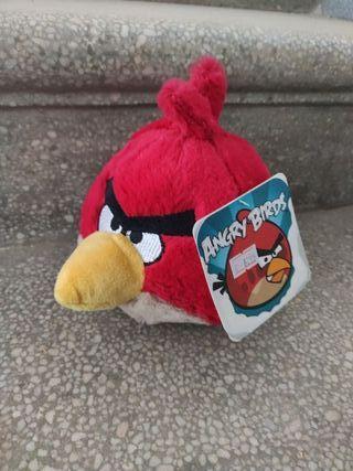 peluche pájaro rojo angry birds