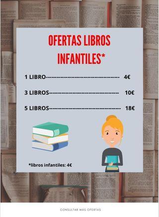OFERTA LIBROS INFANTILES