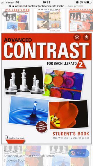 Libro ADVANCED CONTRAST 2° Bachillerato