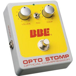 bbe opto stomp pedal guitarra instrumento
