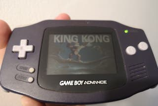 Game Boy Advance azul + juego