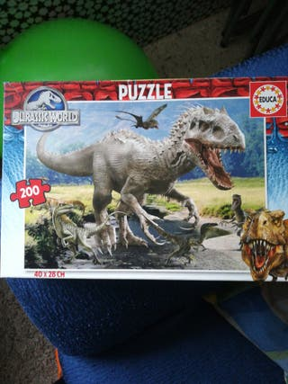 puzzle jurassic world