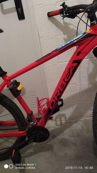 bicicleta orbea nueva color rojo talla 28 l
