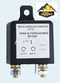 Relé separador de carga automático