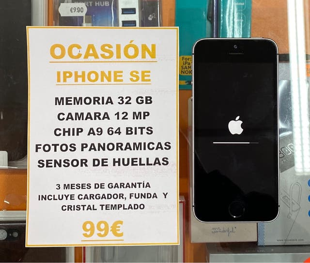¡OFERTA! IPHONE SE 32GB SPACE GREY
