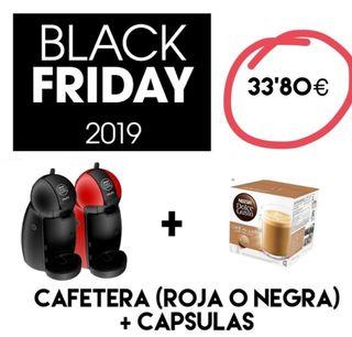 EL MEJOR PRECIO DEL MERCADO. CAFETERA MAS CAPSULAS