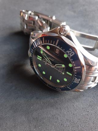 reloj omega seamaster co-axial chronometer