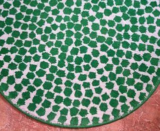 alfombra redonda 80 cm de diámetro