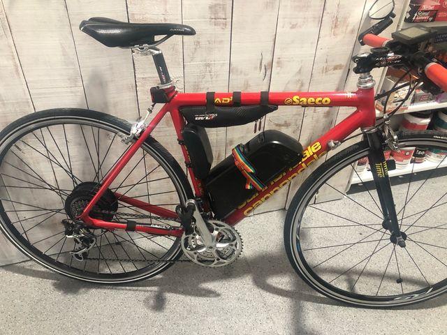 Bicicleta electrica carretera Talla 50