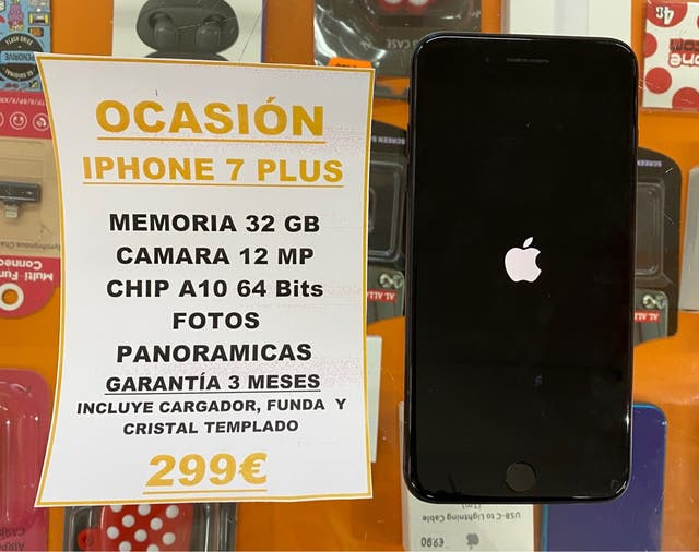 ¡OFERTA! IPHONE 7 PLUS 32Gb BLACK