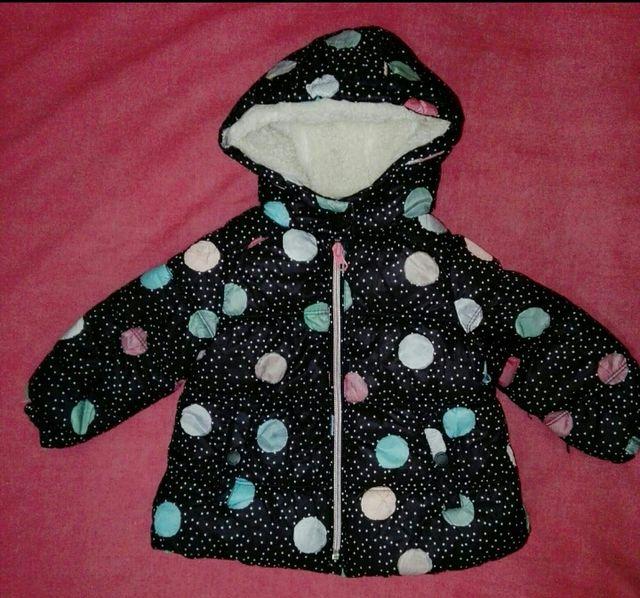 chaqueta de abrigo Zara baby 9/12 meses.