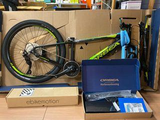 Bicicleta eléctrica de MTB Orbea EMX 24 Niño 2019.