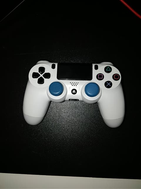Mando ps4 blanco