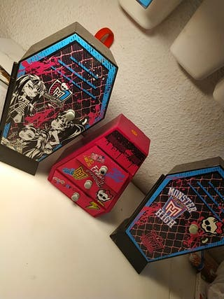 taquillas monster high