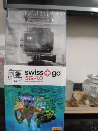 Cámara acuatica Swiss Go