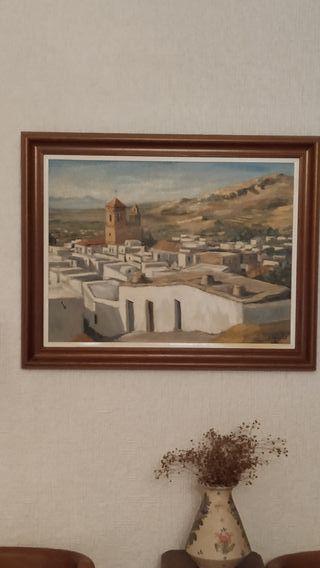 cuadro paisaje j.godoy