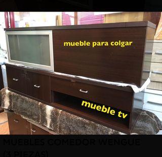 MUEBLE DE COMEDOR WENGUE !!!