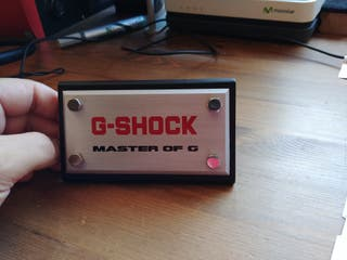 Expositores casio Gshock
