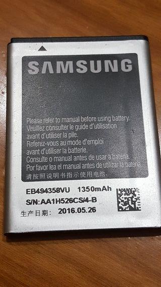 bateria samsung galaxy ace 3.7v 1350mAh 5.00Wh