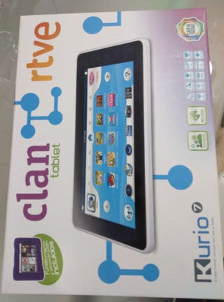 Tablet clan lirio 7