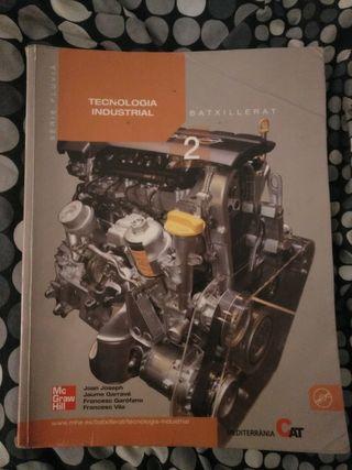 Libro Tecnología industrial 2o Bachillerato