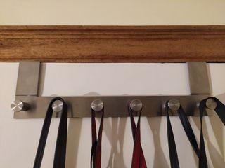 Perchero metal para puerta Ikea