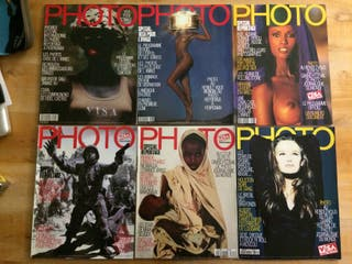 Revistas PHOTO Magazine Francia LOTE 15 NUMEROS