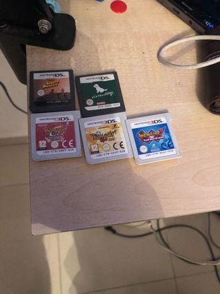Juegos Nintendo 3ds y ds