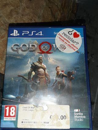 PS4 JUEGO GOD OF WAR