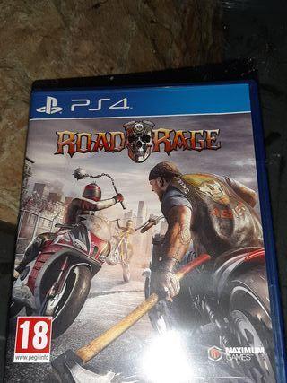 PS4 juego ROAD RAGE