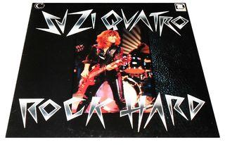 SUZI QUATRO. ROCK HARD. LP VINILO