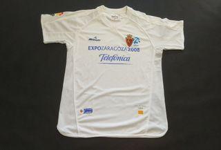 camiseta Mercury real Zaragoza 2007 copa ferias 64